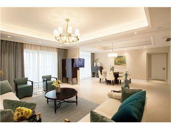 140平米四室三厅混搭风格客厅设计图