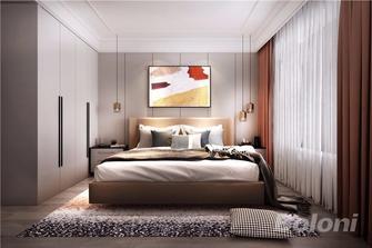 140平米四英伦风格卧室效果图