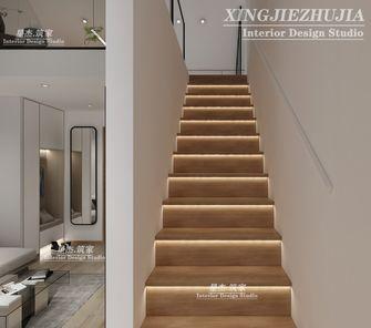 130平米日式风格楼梯间图片大全