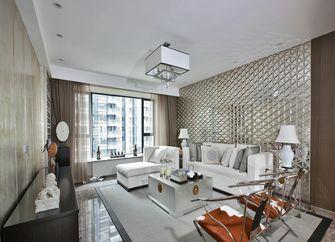 140平米三室四厅中式风格客厅装修案例