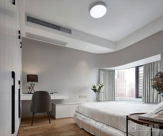 130平米三室五厅现代简约风格卧室图片大全