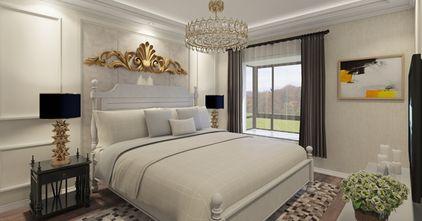 130平米三新古典风格卧室欣赏图