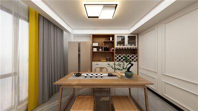 140平米三室三厅现代简约风格书房装修图片大全