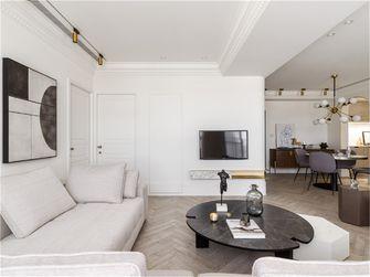 130平米三室两厅新古典风格客厅装修案例