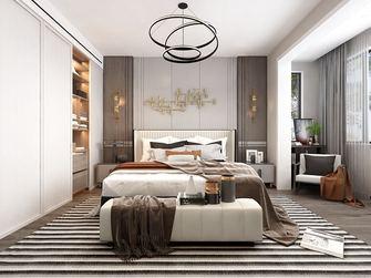 140平米公寓中式风格卧室图片