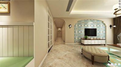 130平米三室两厅地中海风格客厅图