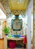 富裕型110平米三室两厅地中海风格梳妆台图