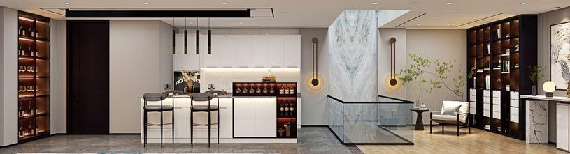 80平米公寓混搭风格餐厅效果图