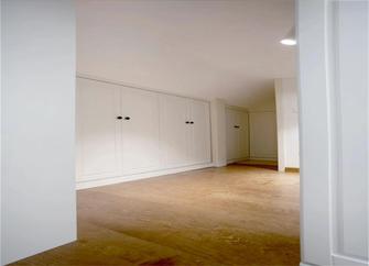 110平米现代简约风格阁楼效果图