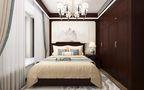 140平米复式中式风格卧室效果图