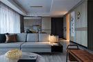 120平米三室两厅英伦风格客厅装修图片大全