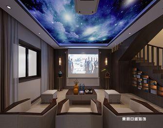 140平米四室两厅中式风格影音室装修案例