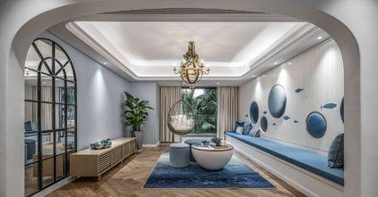 140平米四室两厅地中海风格客厅效果图