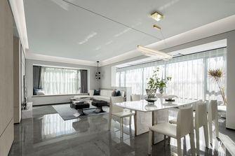 140平米三室一厅现代简约风格餐厅图片