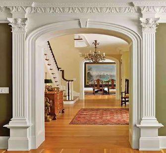 140平米四新古典风格走廊效果图