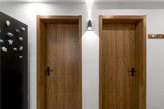 80平米三室两厅混搭风格走廊设计图