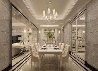 经济型140平米四室四厅欧式风格餐厅设计图