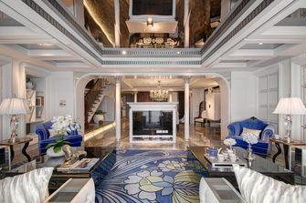100平米新古典风格客厅装修图片大全