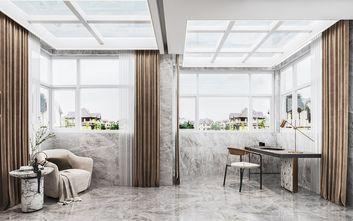 140平米复式现代简约风格阳台设计图