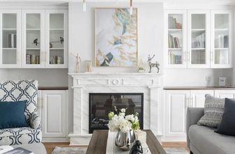 130平米四室两厅美式风格客厅图