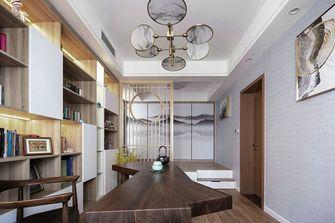 140平米三室两厅英伦风格书房设计图