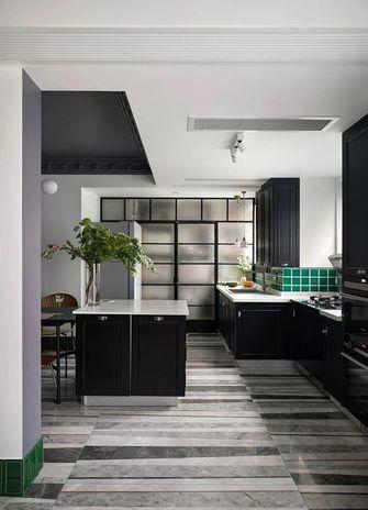 120平米三室一厅新古典风格厨房装修效果图