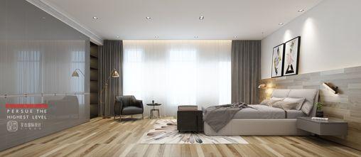 140平米别墅北欧风格卧室图片大全