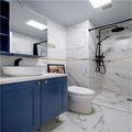90平米三室一厅英伦风格卫生间图