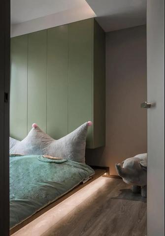 80平米公寓现代简约风格儿童房图片