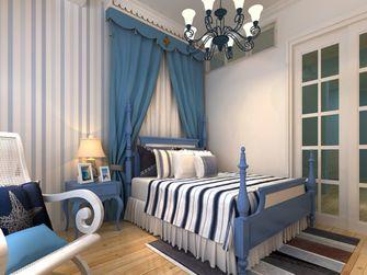 60平米一室两厅地中海风格卧室装修案例