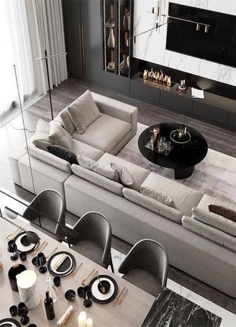 140平米三室两厅新古典风格其他区域装修效果图