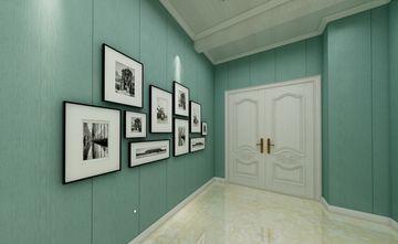 100平米三室两厅田园风格走廊欣赏图