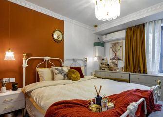 60平米一居室东南亚风格卧室欣赏图