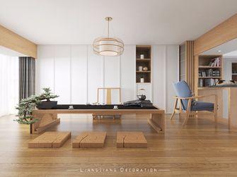 110平米四室一厅日式风格影音室装修案例