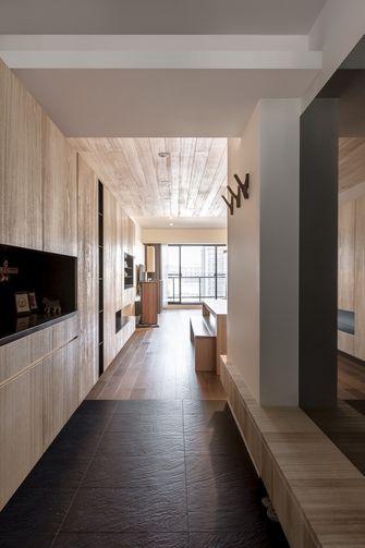 100平米三室两厅日式风格走廊图