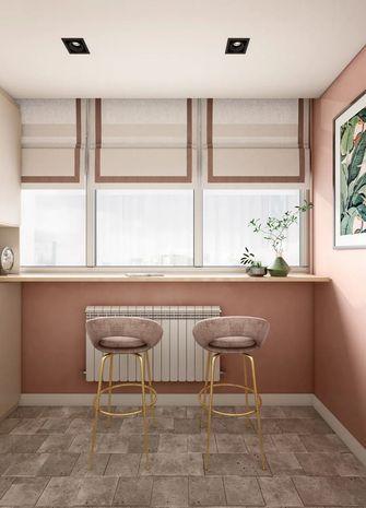 60平米一居室北欧风格阳台装修效果图