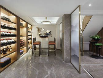 140平米三室两厅中式风格储藏室效果图