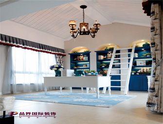 140平米复式地中海风格书房设计图