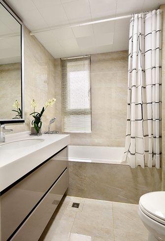 120平米中式风格卫生间设计图