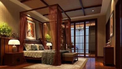 140平米四室两厅东南亚风格卧室效果图