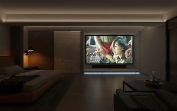 140平米四现代简约风格影音室效果图