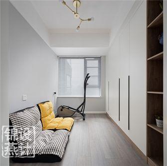 70平米三室两厅北欧风格健身室装修图片大全