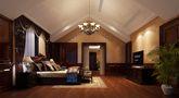 豪华型140平米别墅新古典风格阁楼装修图片大全