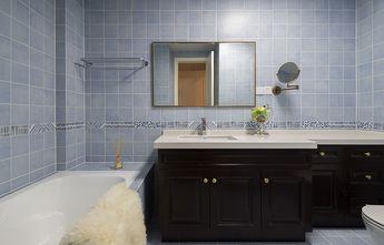 120平米三室两厅美式风格卫生间装修图片大全