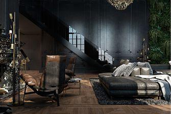 80平米公寓美式风格卧室效果图