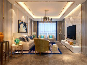 70平米一室一厅现代简约风格客厅效果图
