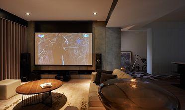 140平米三室一厅混搭风格影音室图