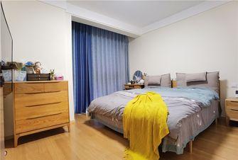 80平米一居室日式风格卧室图