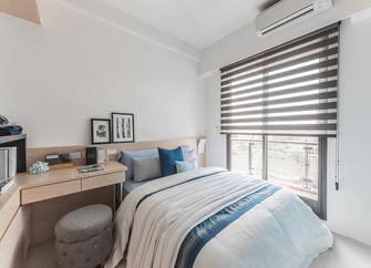 130平米三室两厅日式风格卧室设计图