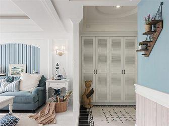 110平米三室两厅美式风格玄关门口欣赏图